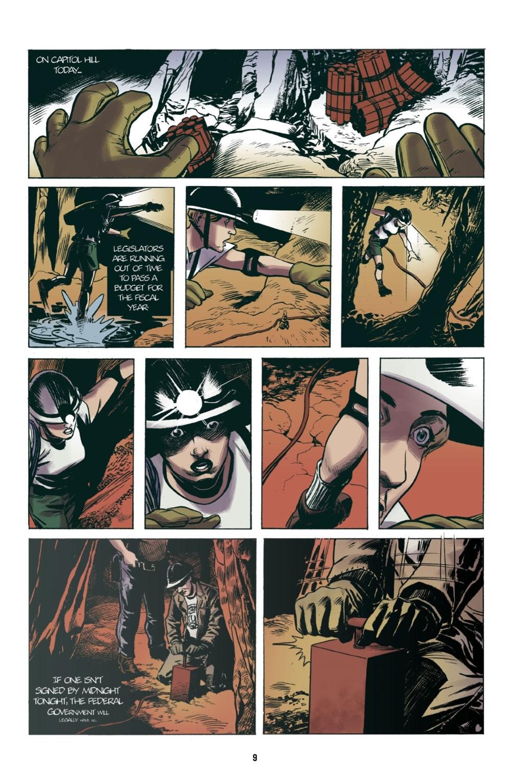 UNDERGROUND-REFERENCE-010 ComicList Previews: UNDERGROUND TP