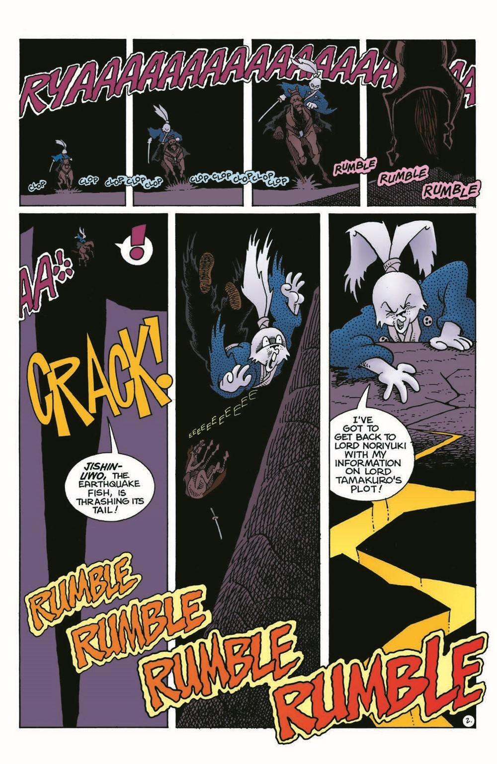 Usagi-DBC04_pr-4 ComicList Previews: USAGI YOJIMBO THE DRAGON BELLOW CONSPIRACY #4 (OF 6)