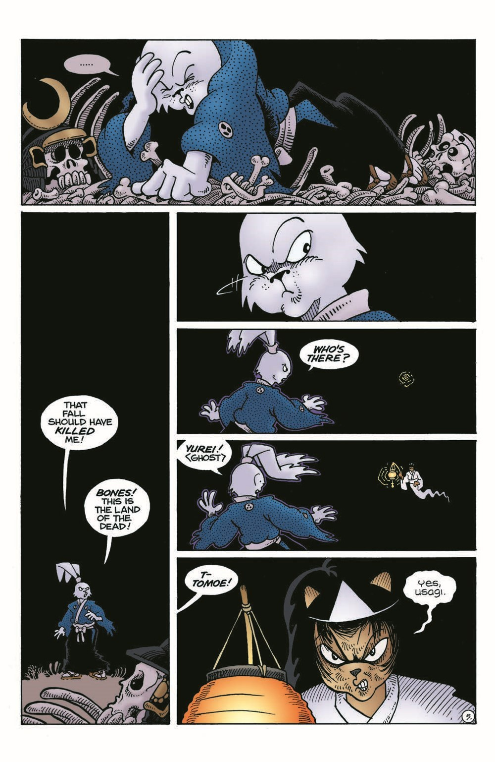 Usagi-DBC04_pr-7 ComicList Previews: USAGI YOJIMBO THE DRAGON BELLOW CONSPIRACY #4 (OF 6)