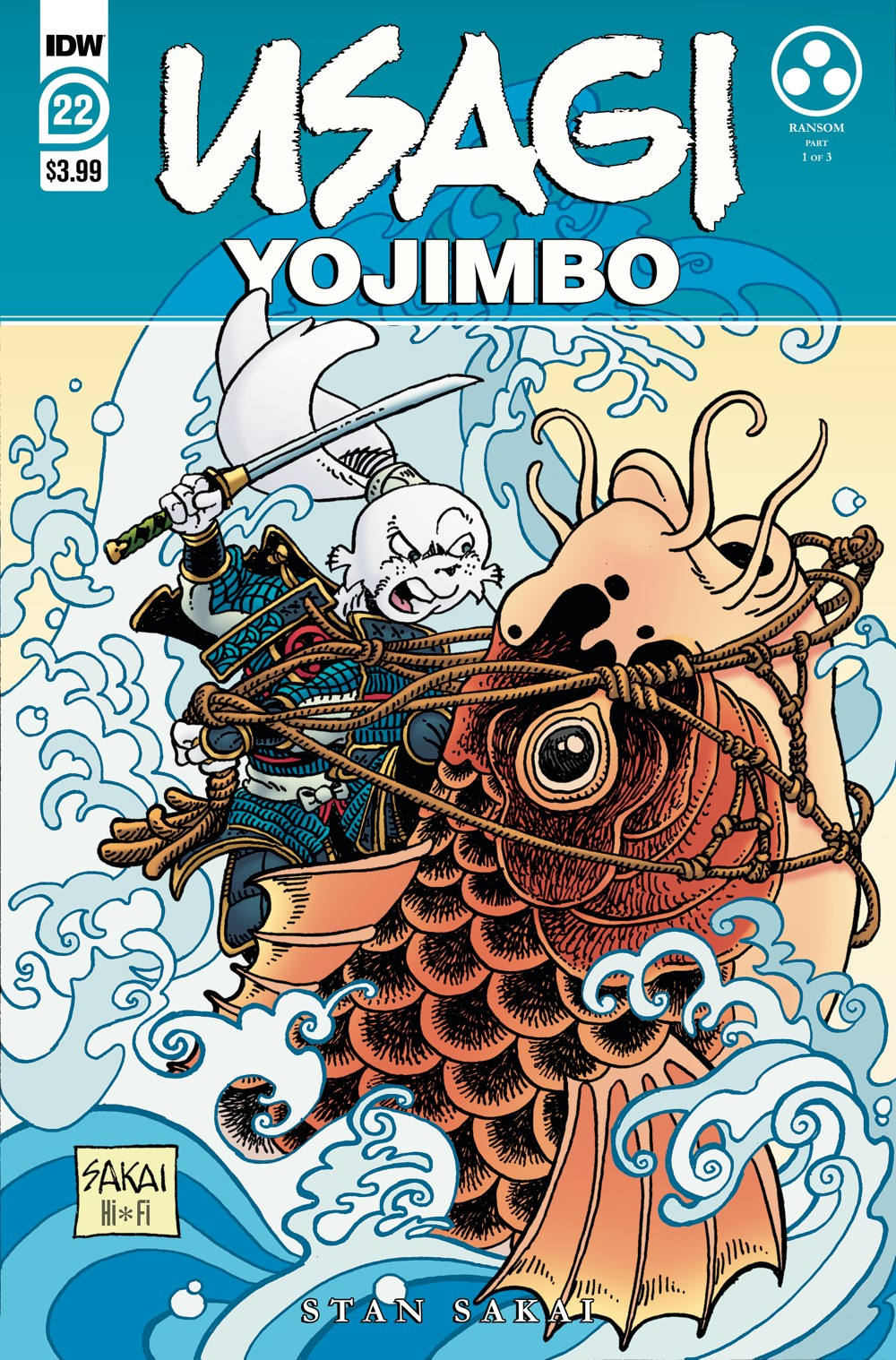 Usagi22_cvrA ComicList Previews: USAGI YOJIMBO #22