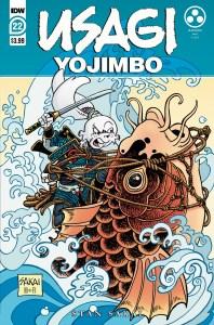 Usagi22_cvrA-198x300 ComicList Previews: USAGI YOJIMBO #22