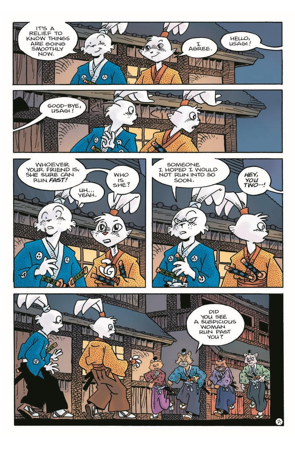 Usagi22_pr-4 ComicList Previews: USAGI YOJIMBO #22