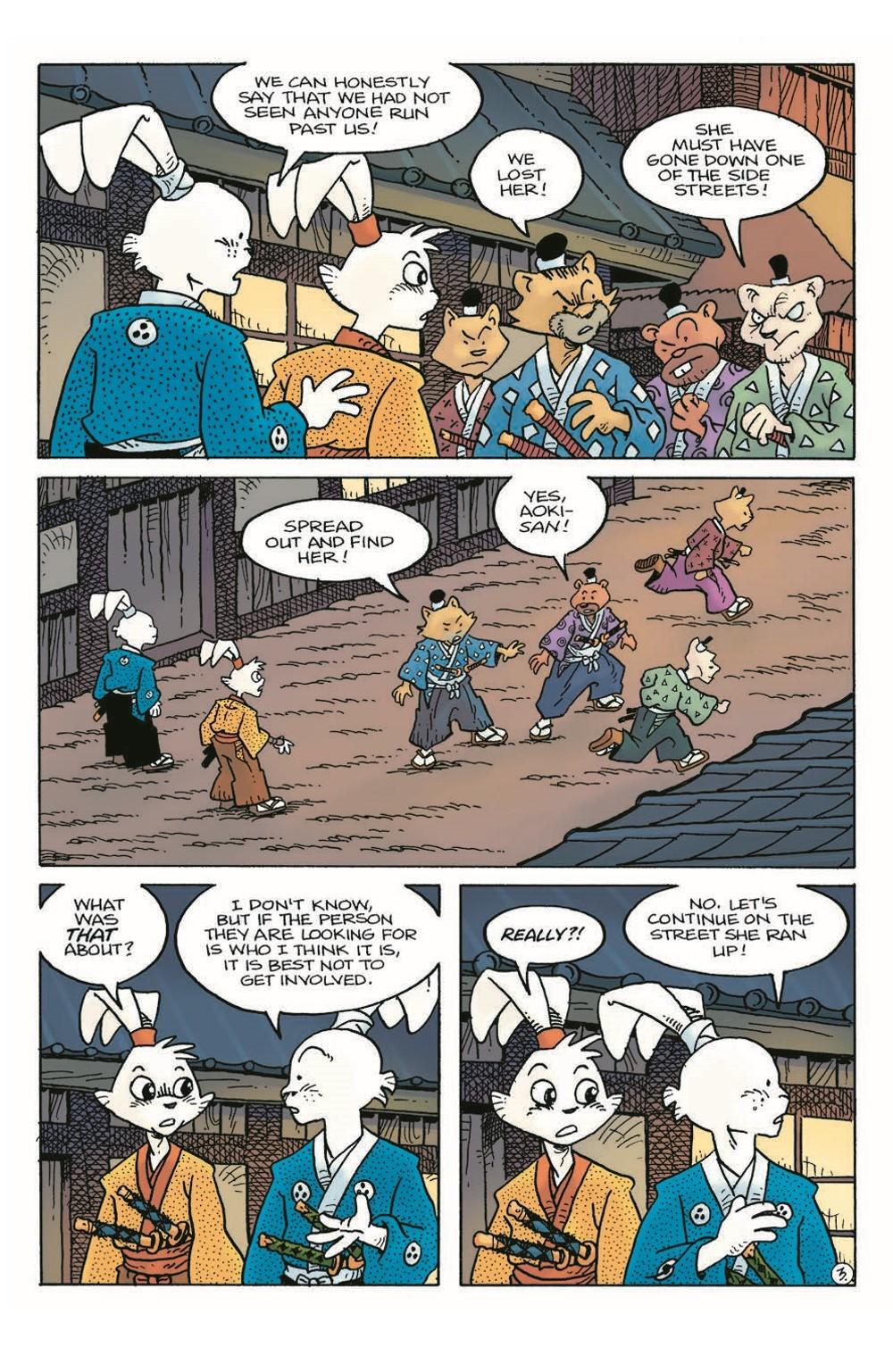Usagi22_pr-5 ComicList Previews: USAGI YOJIMBO #22