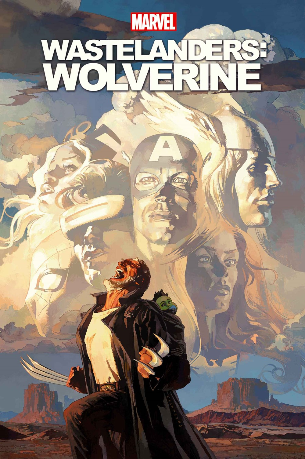 WASTELWOLV2021001 Marvel Comics December 2021 Solicitations
