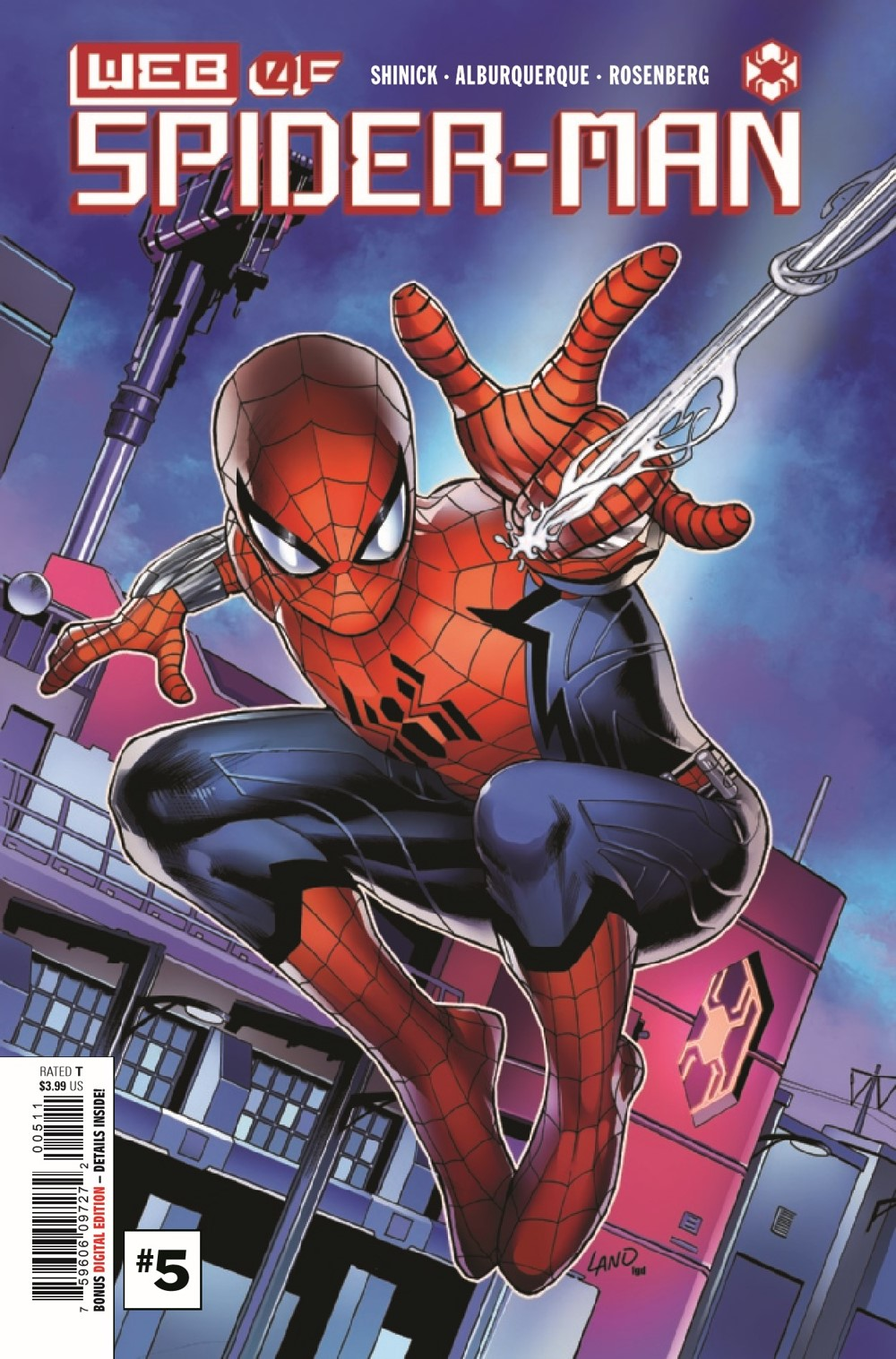 WEBOFSM2020005_Preview-1 ComicList Previews: W.E.B. OF SPIDER-MAN #5 (OF 5)