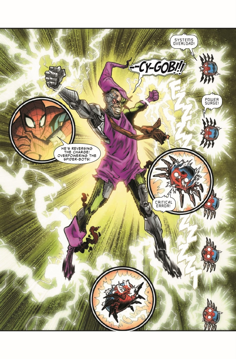 WEBOFSM2020005_Preview-4 ComicList Previews: W.E.B. OF SPIDER-MAN #5 (OF 5)