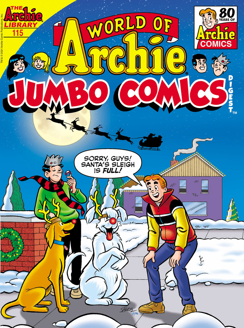 WOArchieJumbo115 Archie Comic Publications December 2021 Solicitations