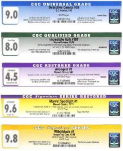 cgc-labels-1-245x300 CGC 101: What is CGC? What do CGC Labels Mean?