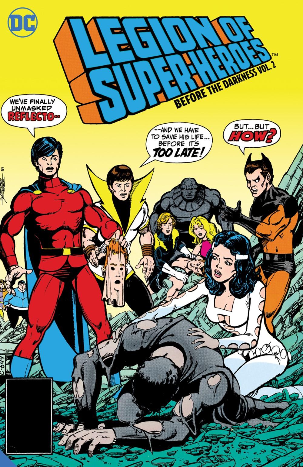 legionofsuperheroes-beforethedarkness-vol2 DC Comics December 2021 Solicitations