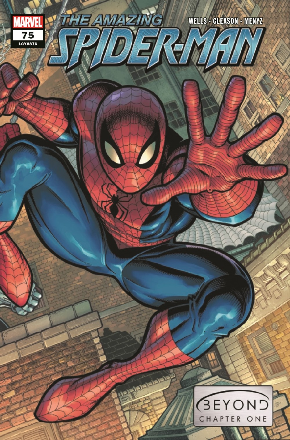 ASM2018075_Preview-1 ComicList Previews: AMAZING SPIDER-MAN #75