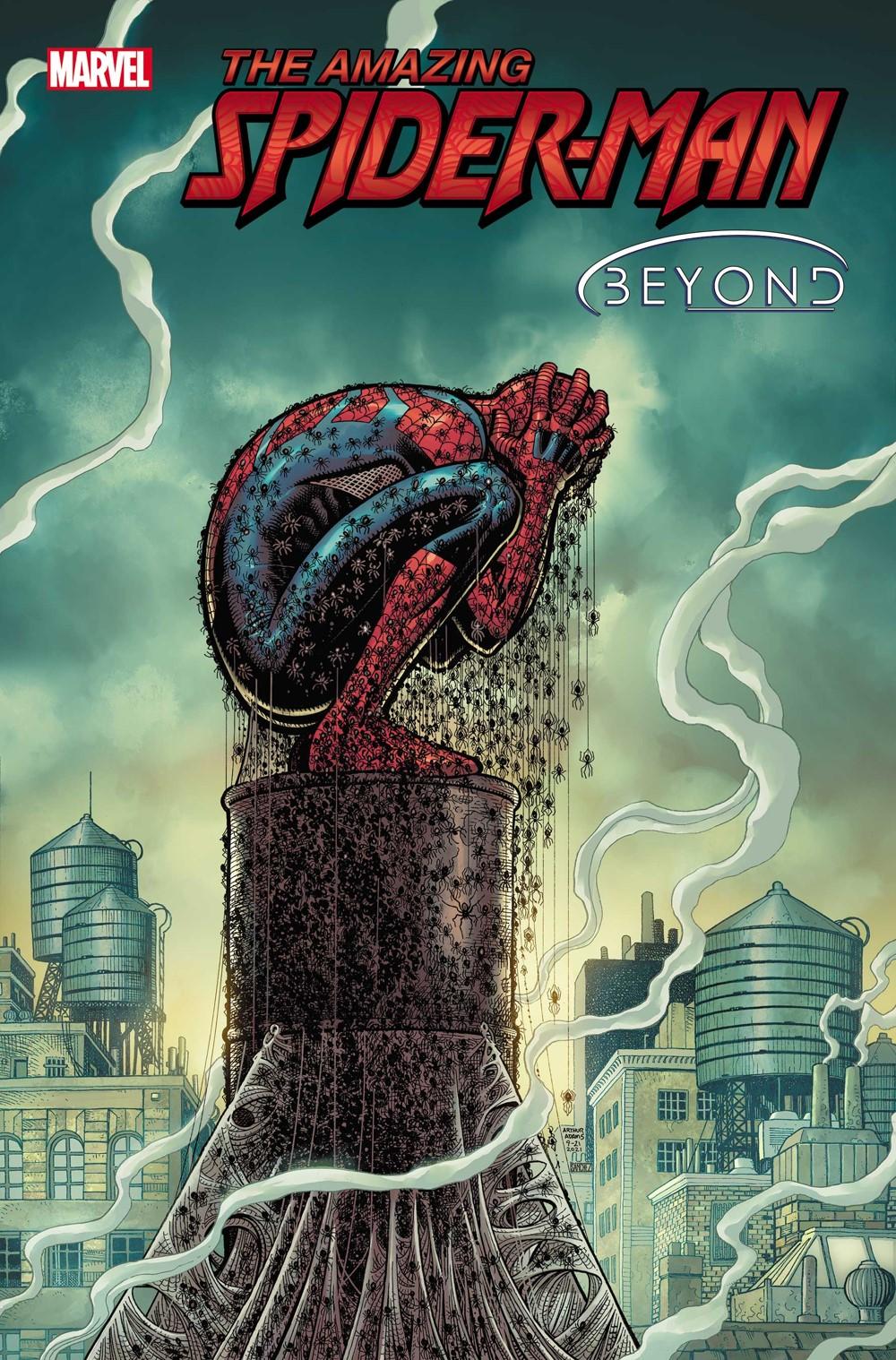 ASM2018086_cov Ben Reilly is devastated by Doctor Octopus in AMAZING SPIDER-MAN #85