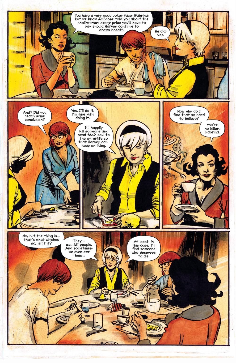 ChillingAdventuresOfSabrina_09-03 ComicList Previews: CHILLING ADVENTURES OF SABRINA #9