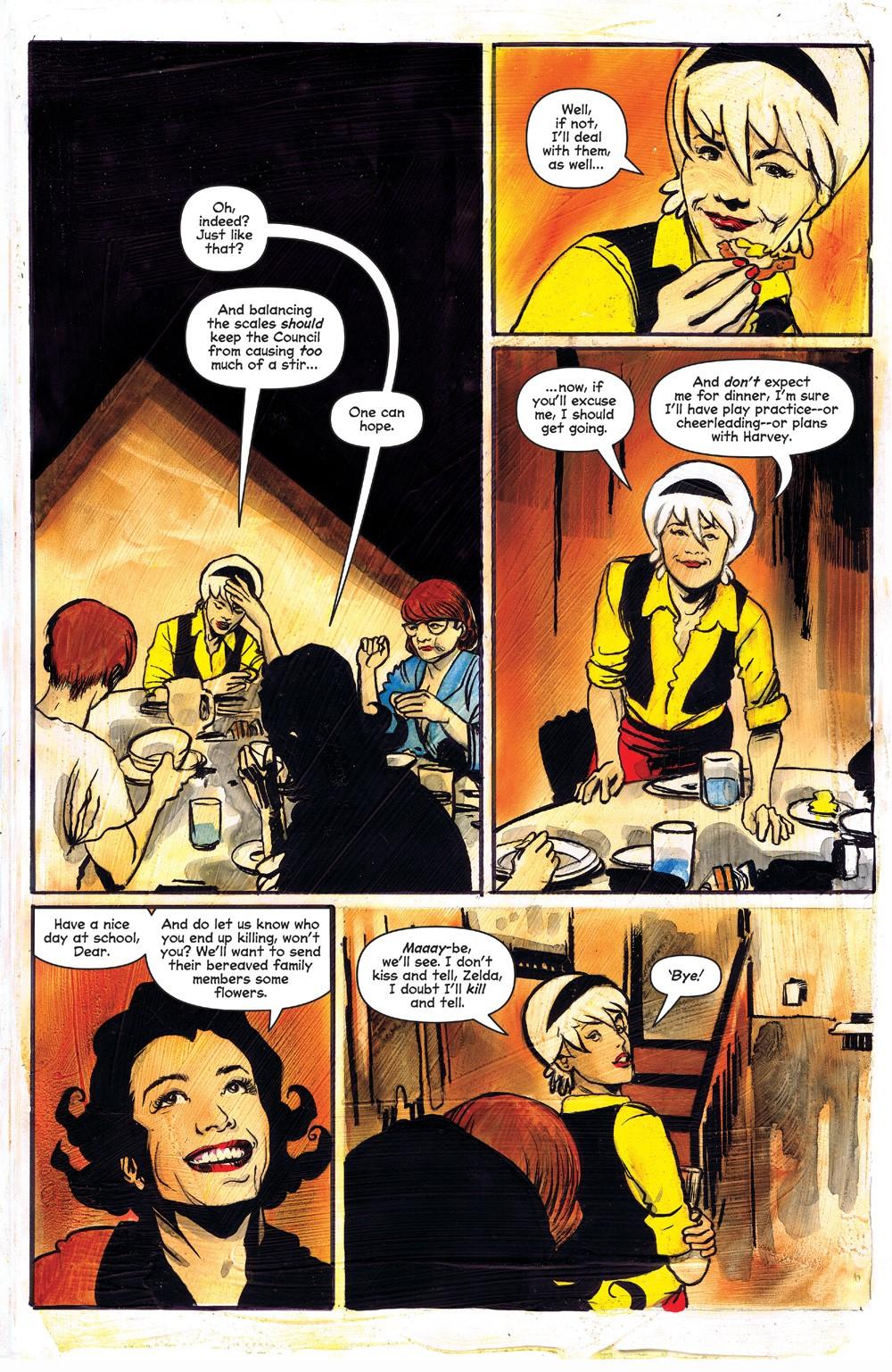 ChillingAdventuresOfSabrina_09-04 ComicList Previews: CHILLING ADVENTURES OF SABRINA #9