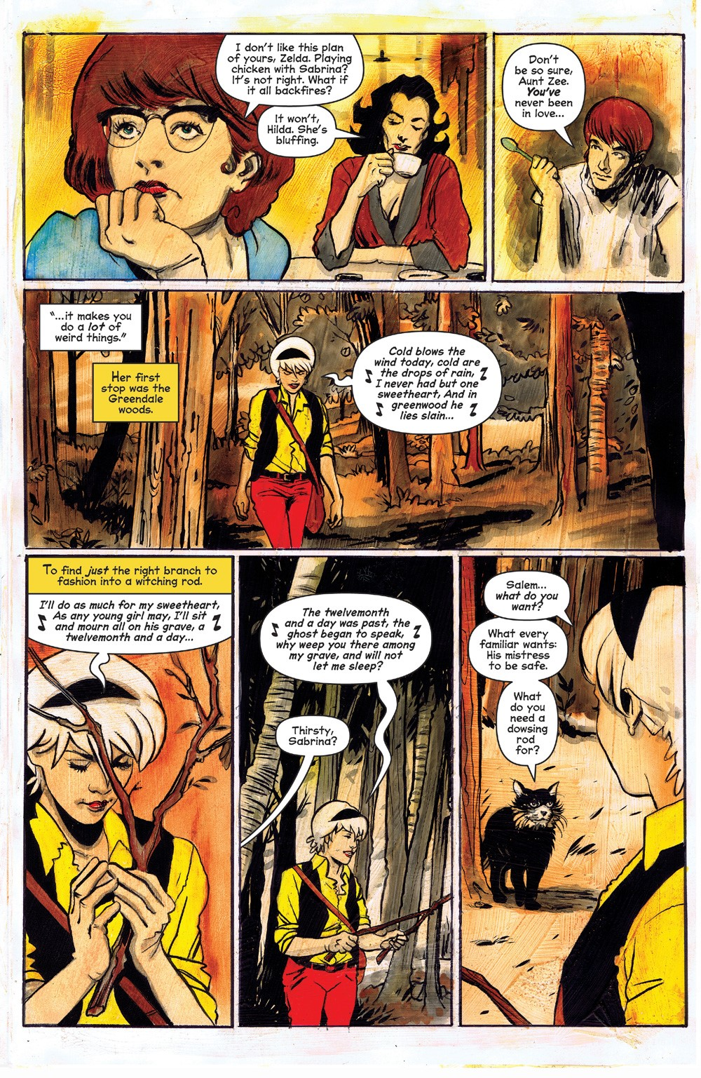 ChillingAdventuresOfSabrina_09-05 ComicList Previews: CHILLING ADVENTURES OF SABRINA #9