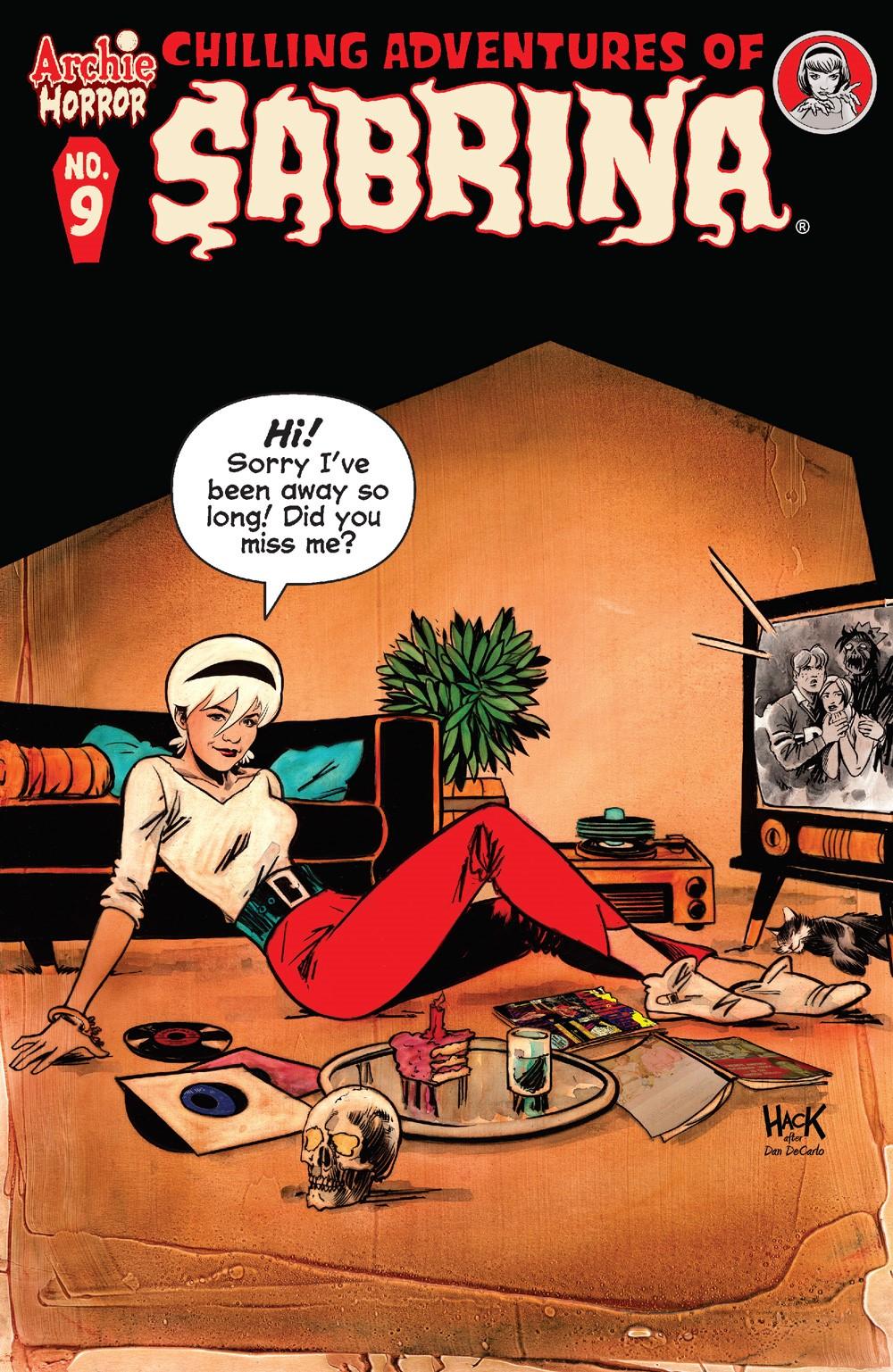 ChillingAdventuresOfSabrina_09_CoverA_Hack ComicList Previews: CHILLING ADVENTURES OF SABRINA #9