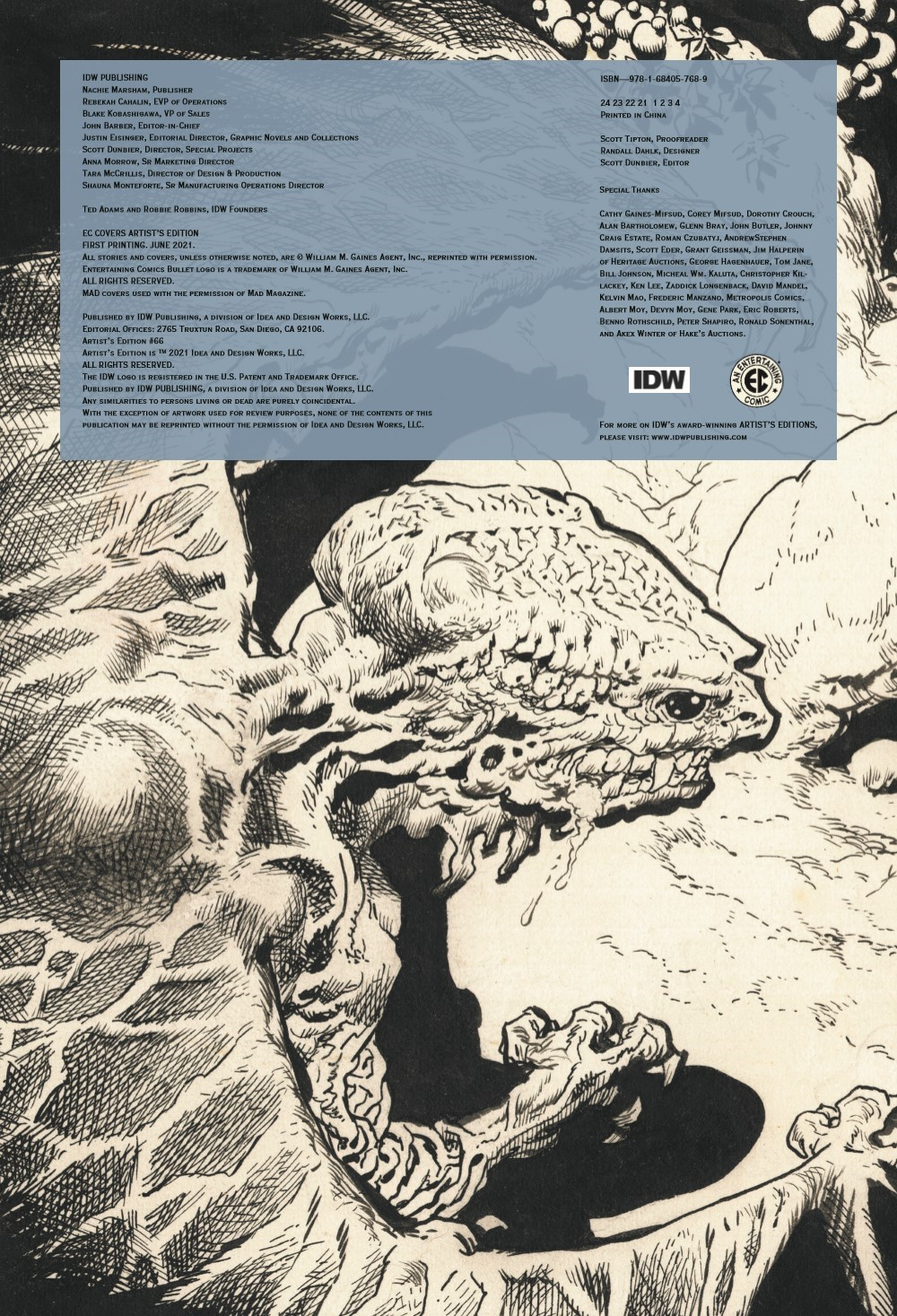 ECArtists_pr-2 ComicList Previews: EC COVERS ARTIST'S EDITION HC