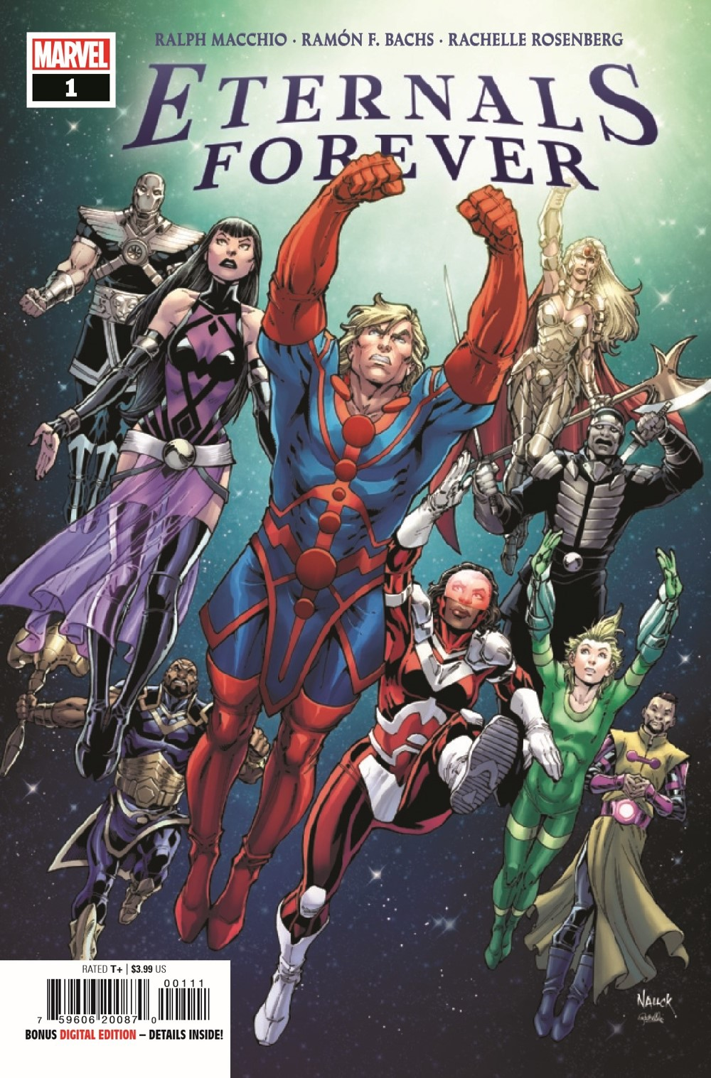 ETRNLSFOREVER2021001_Preview-1 ComicList Previews: ETERNALS FOREVER #1