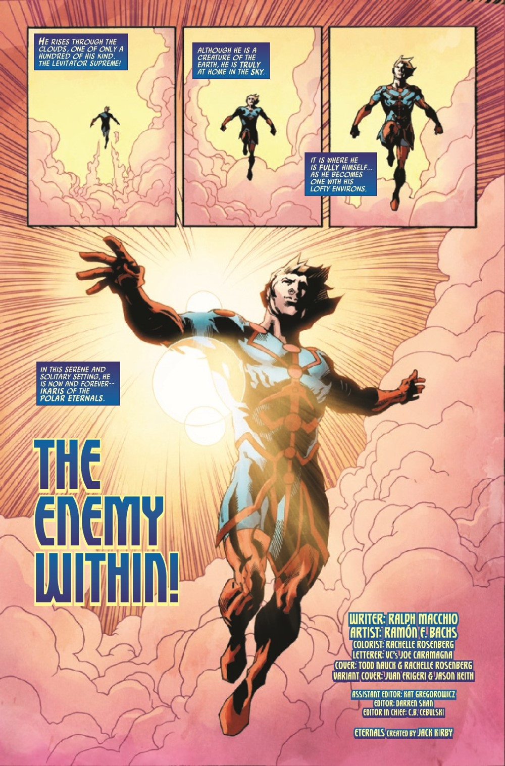 ETRNLSFOREVER2021001_Preview-2 ComicList Previews: ETERNALS FOREVER #1
