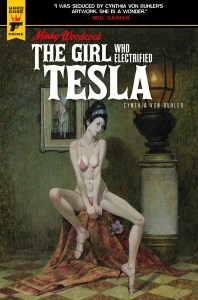 Graphic-Novel-Cover-The-Girl-Who-Electrified-Tesla-198x300 First Look at MINKY WOODCOCK THE GIRL WHO ELECTRIFIED TESLA VOLUME 2 TP from Titan Comics