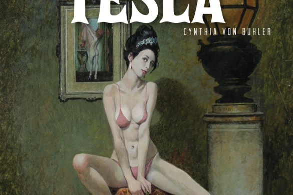 Graphic-Novel-Cover-The-Girl-Who-Electrified-Tesla First Look at MINKY WOODCOCK THE GIRL WHO ELECTRIFIED TESLA VOLUME 2 TP from Titan Comics