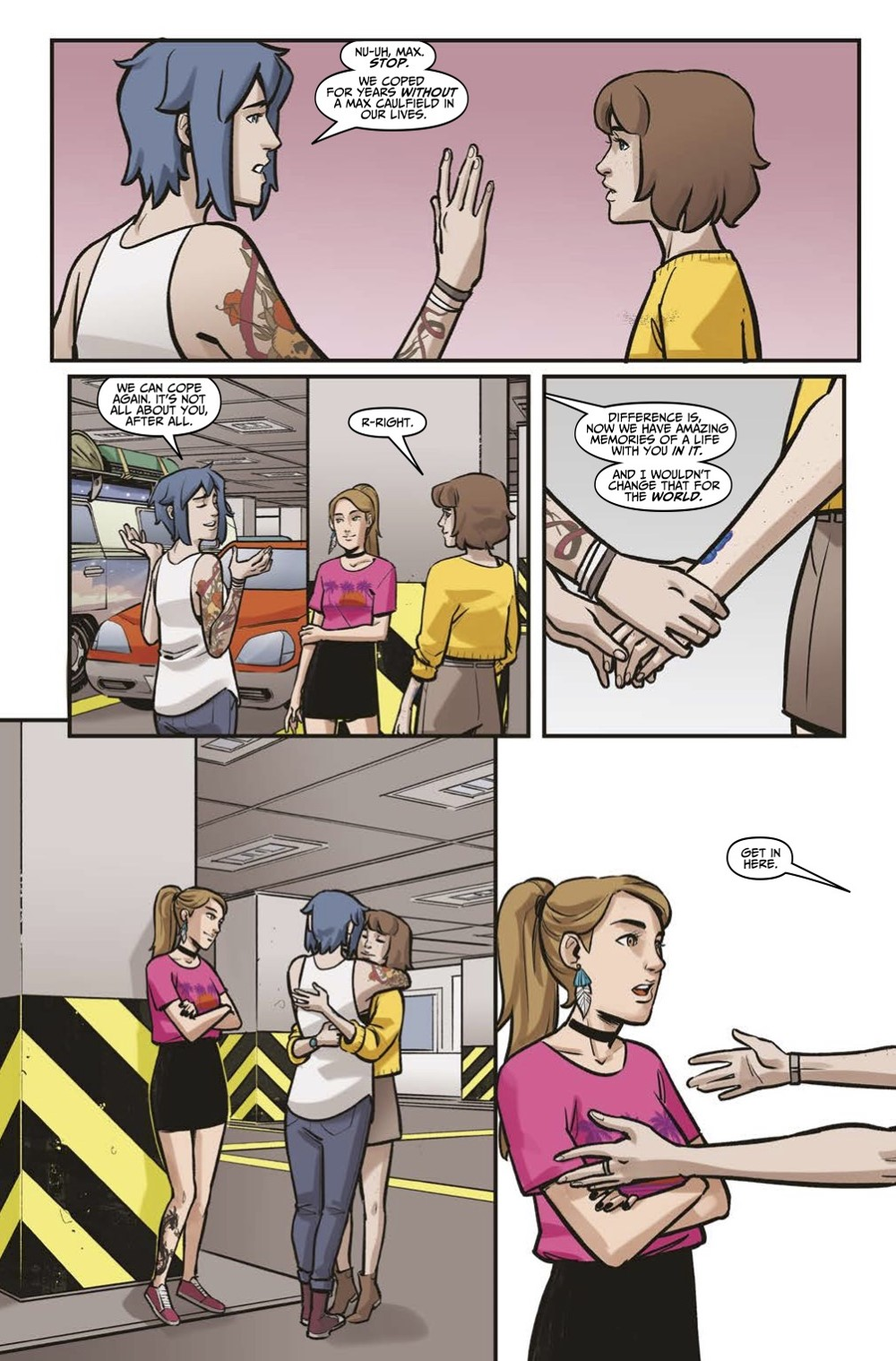 LIS-Settling-Dust-Page-2 ComicList Previews: LIFE IS STRANGE SETTLING DUST #1 (OF 4)