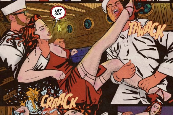Minky_Woodcock-Tesla-Page-4 First Look at MINKY WOODCOCK THE GIRL WHO ELECTRIFIED TESLA VOLUME 2 TP from Titan Comics