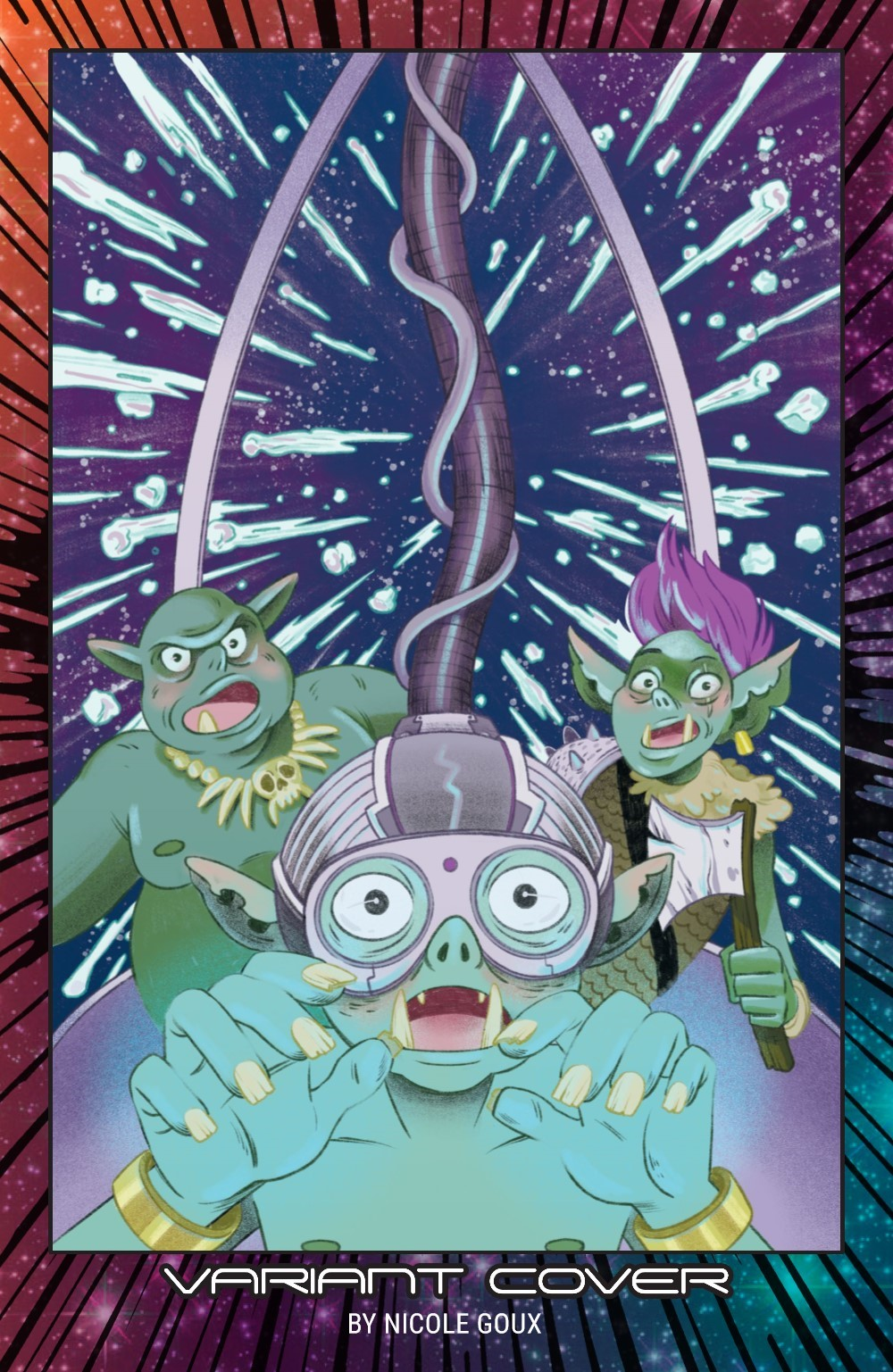ORCSINSPACE-V1-REFERENCE-007 ComicList Previews: ORCS IN SPACE VOLUME 1 TP