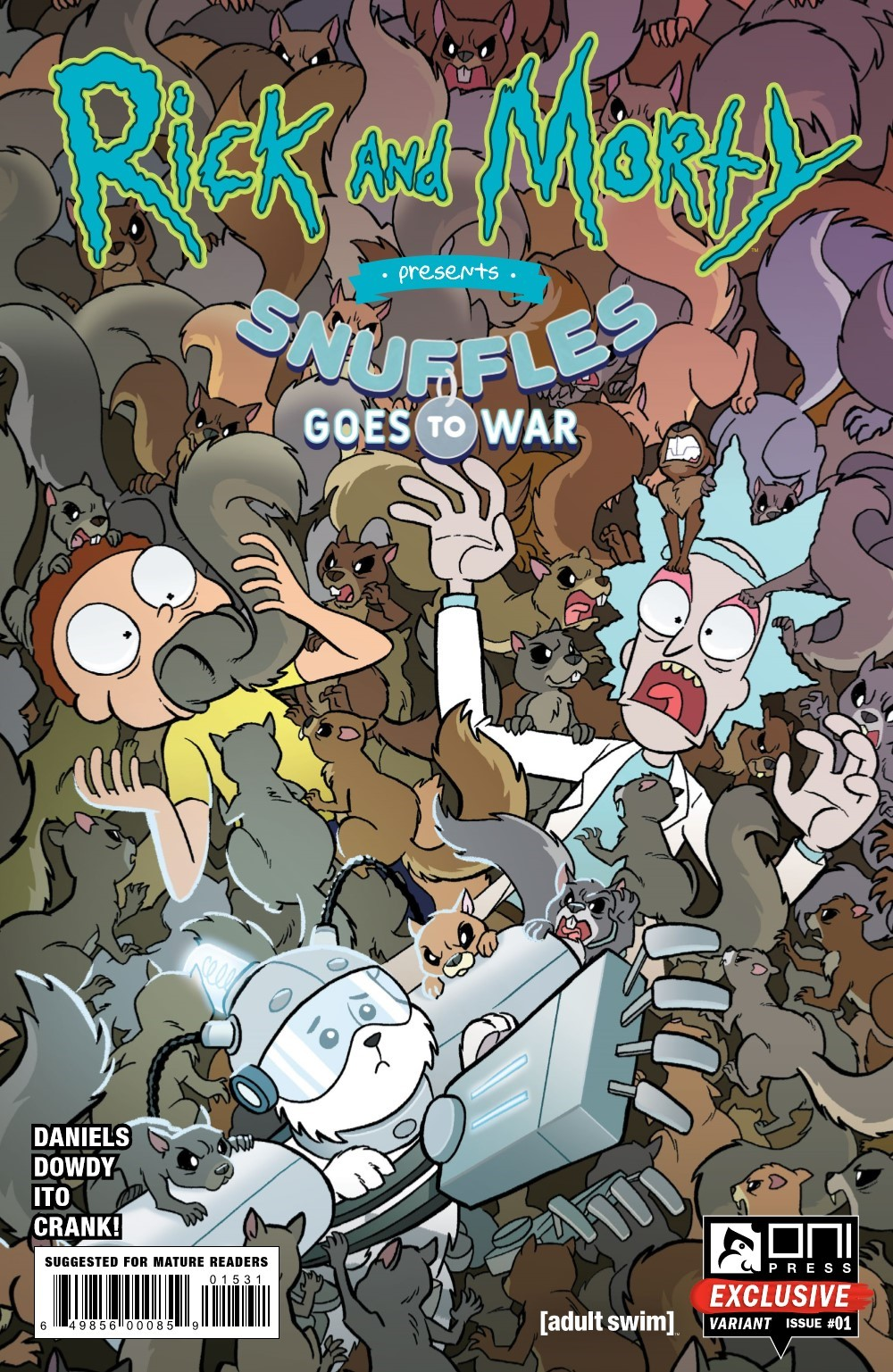 RM-PRES-SNUFFLES-1-REFERENCE-03 ComicList Previews: RICK AND MORTY PRESENTS SNUFFLES GOES TO WAR #1