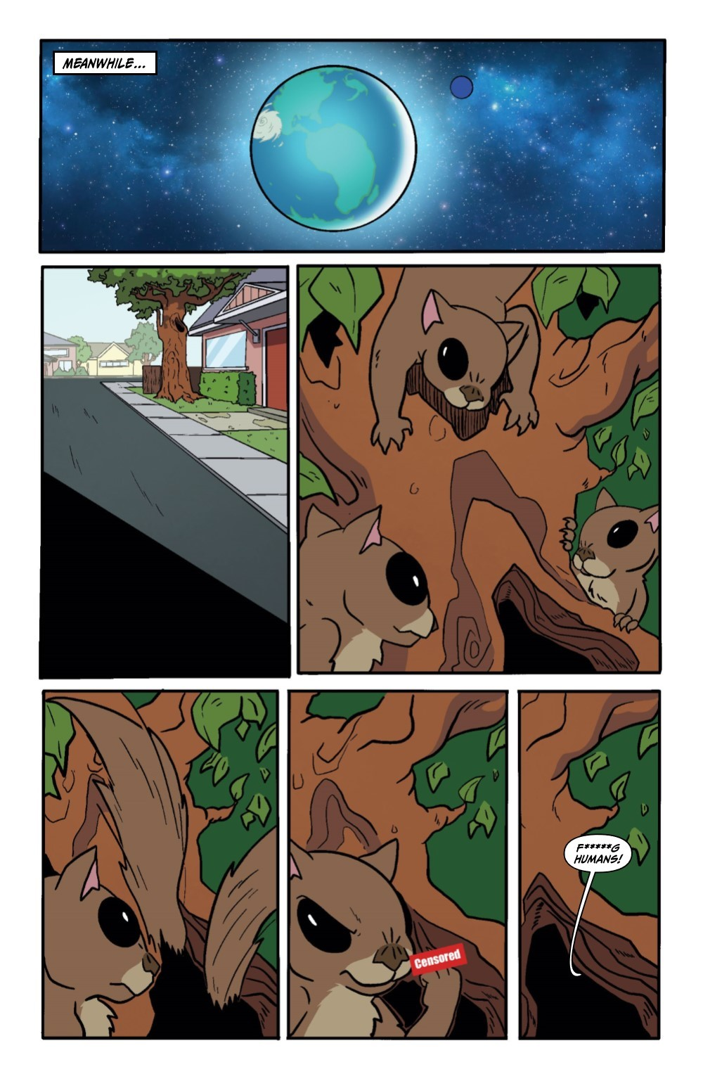 RM-PRES-SNUFFLES-1-REFERENCE-09 ComicList Previews: RICK AND MORTY PRESENTS SNUFFLES GOES TO WAR #1