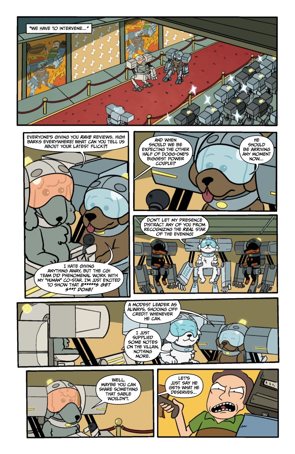 RM-PRES-SNUFFLES-1-REFERENCE-12 ComicList Previews: RICK AND MORTY PRESENTS SNUFFLES GOES TO WAR #1