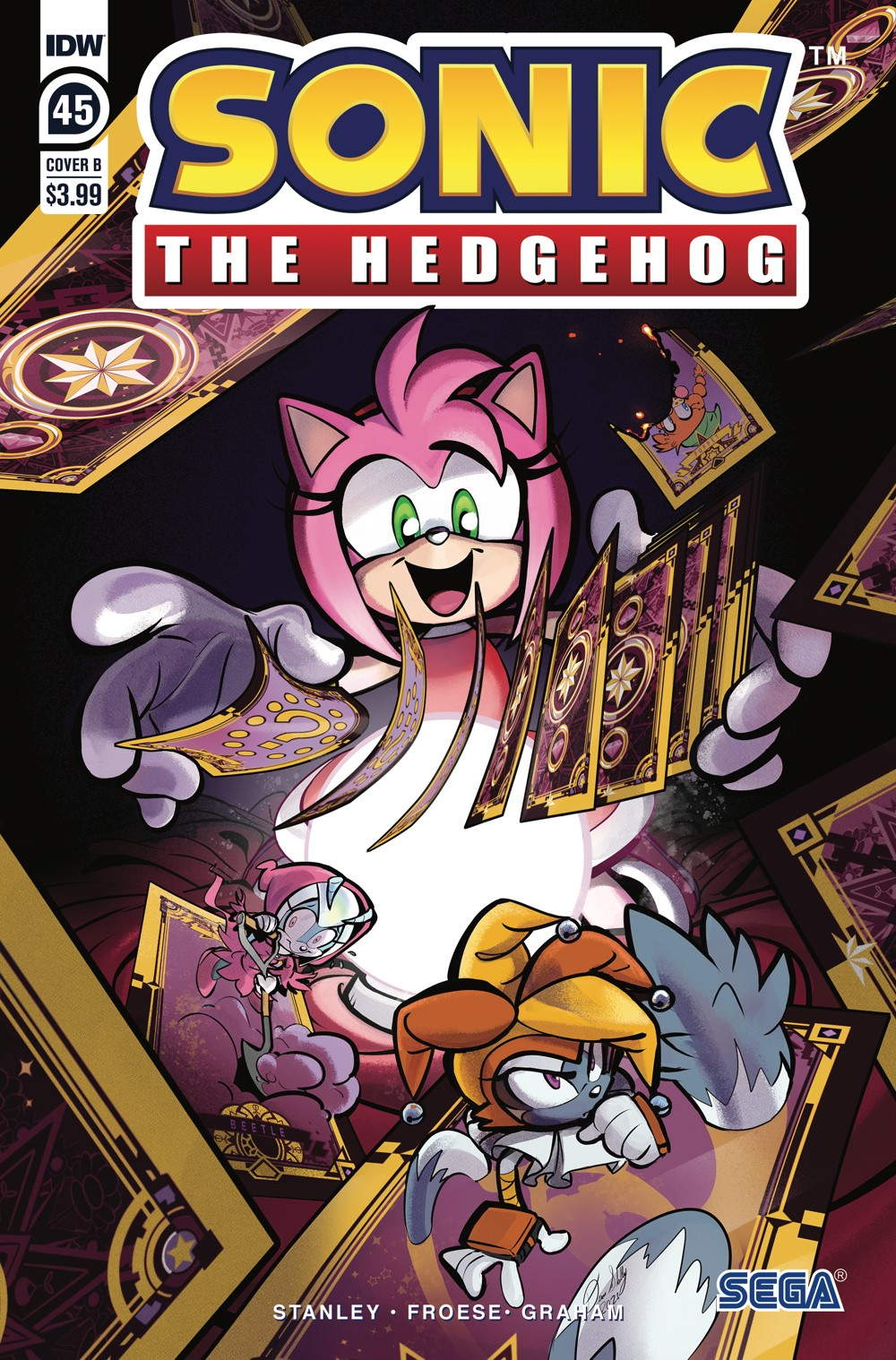 STH45_cvrB ComicList: IDW Publishing New Releases for 10/13/2021