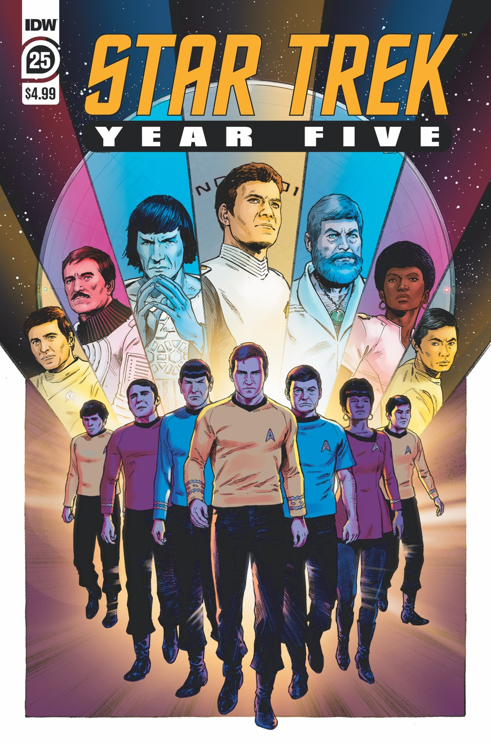 ST_YearFive25-cover ComicList Previews: STAR TREK YEAR FIVE #25