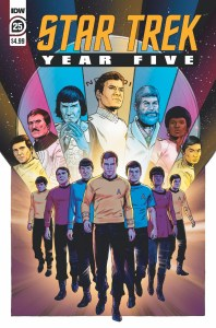 ST_YearFive25-cover-198x300 ComicList Previews: STAR TREK YEAR FIVE #25