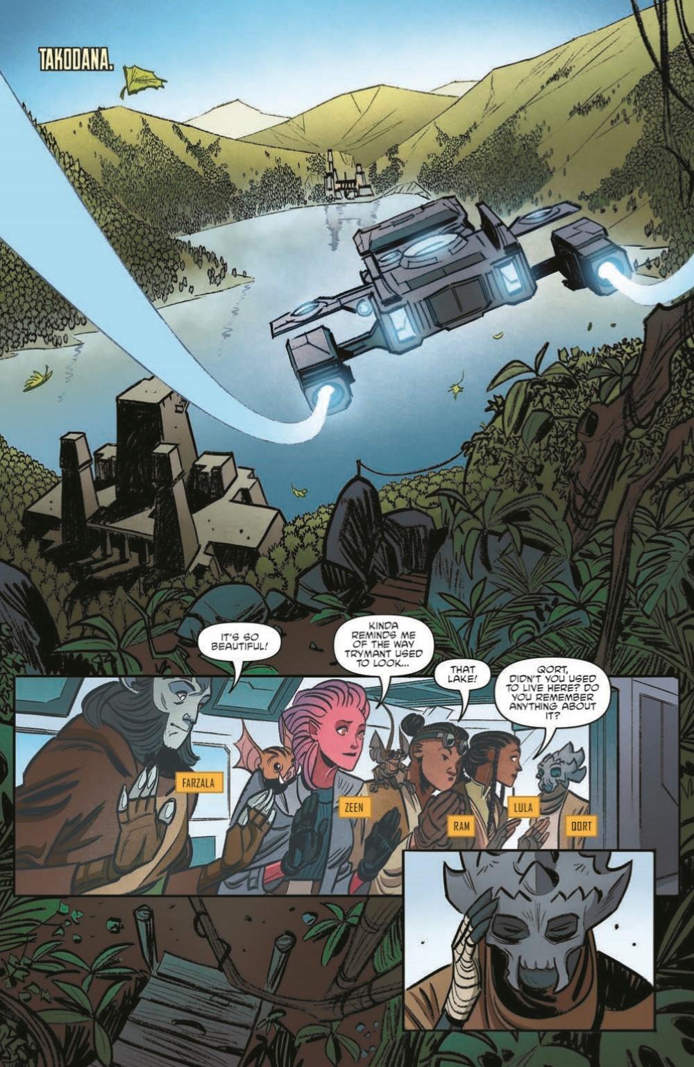 SWAHRA09-pr-3 ComicList Previews: STAR WARS THE HIGH REPUBLIC ADVENTURES #9