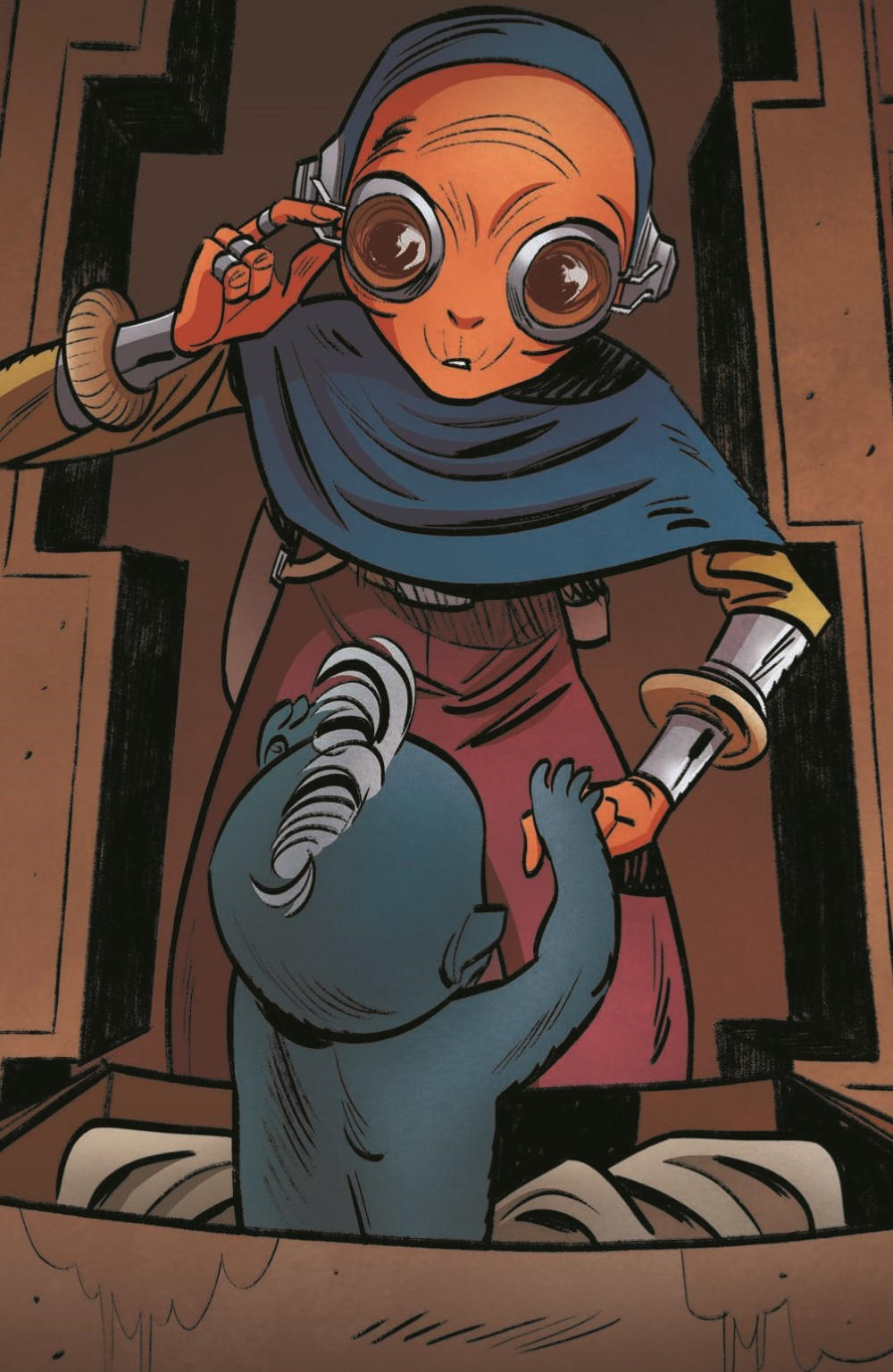 SWAHRA09-pr-6 ComicList Previews: STAR WARS THE HIGH REPUBLIC ADVENTURES #9