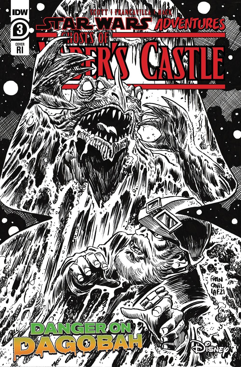 SW_GoVC03-CvrRI ComicList Previews: STAR WARS ADVENTURES GHOST OF VADER'S CASTLE #3 (OF 5)