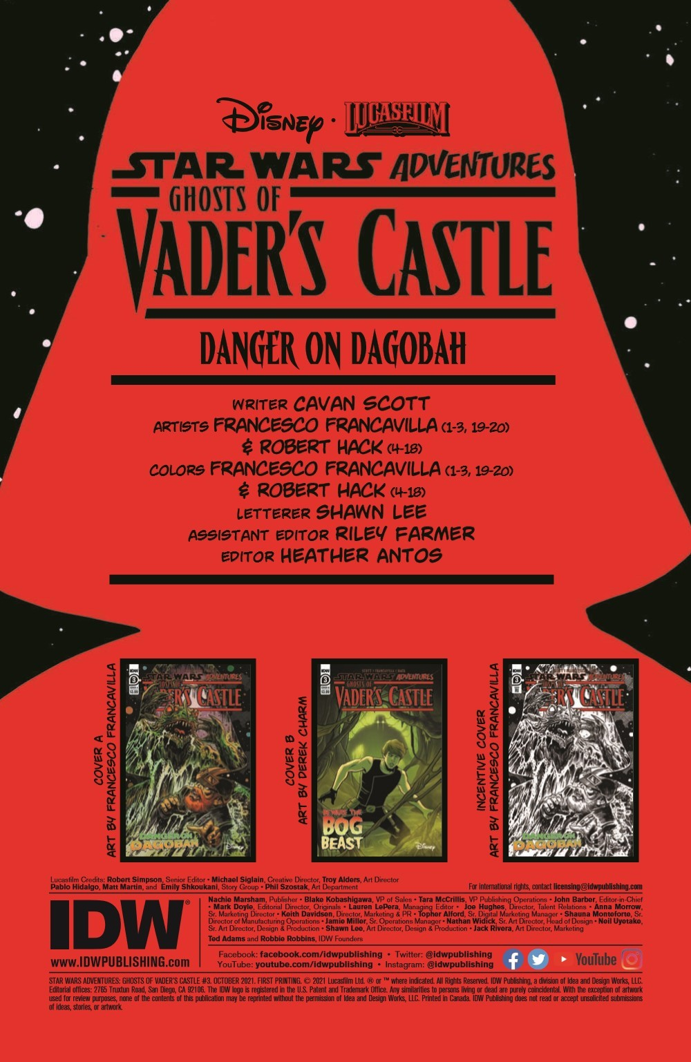 SW_GoVC03_pr-2 ComicList Previews: STAR WARS ADVENTURES GHOST OF VADER'S CASTLE #3 (OF 5)