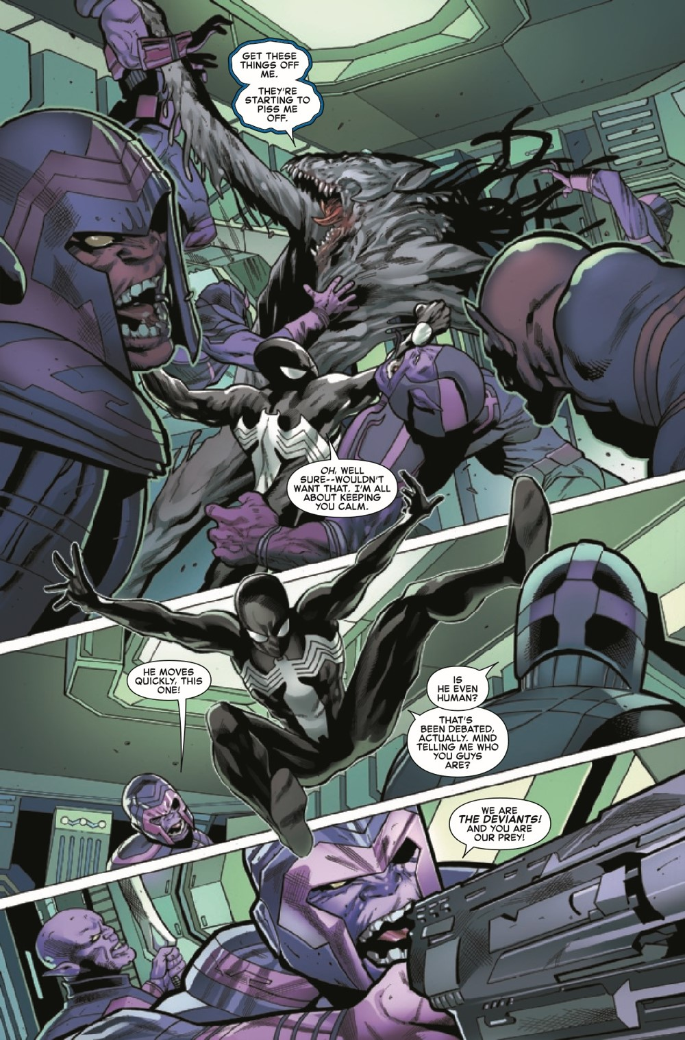 SYMBIOTESMCR2021004_Preview-4 ComicList Previews: SYMBIOTE SPIDER-MAN CROSSROADS #4 (OF 5)
