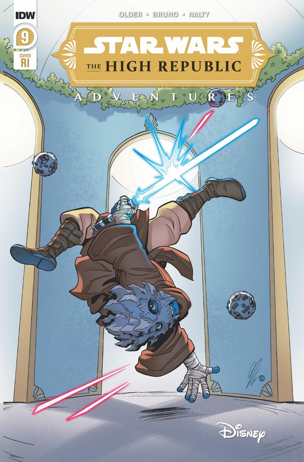StarWarsHighRepublic-09-B ComicList: IDW Publishing New Releases for 10/06/2021