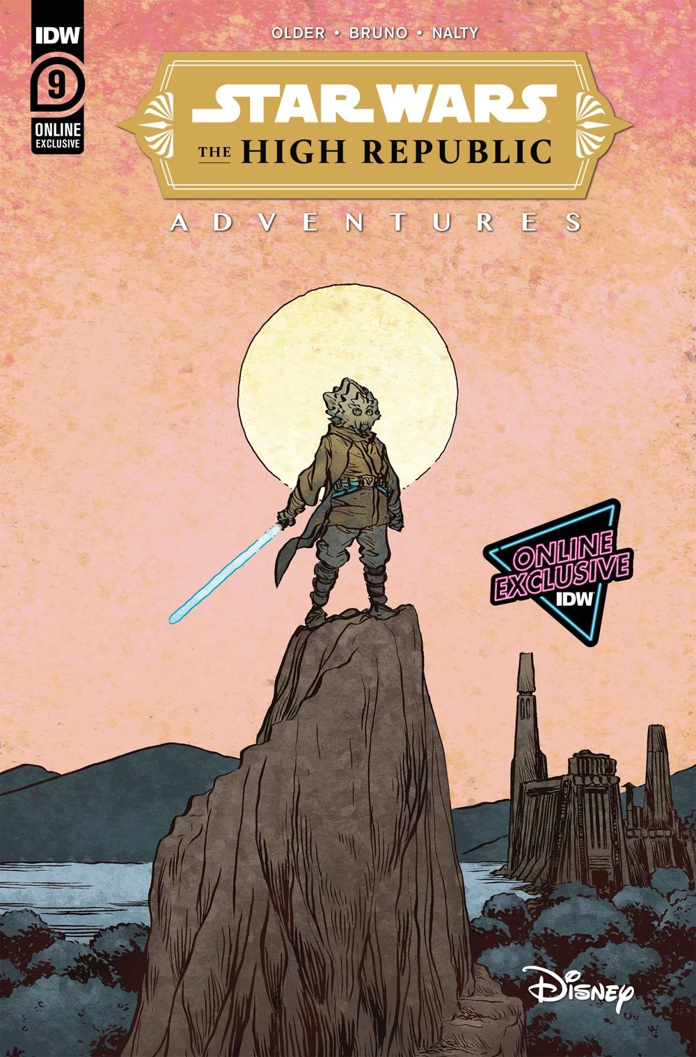 StarWarsHighRepublic-09-DTC ComicList Previews: STAR WARS THE HIGH REPUBLIC ADVENTURES #9