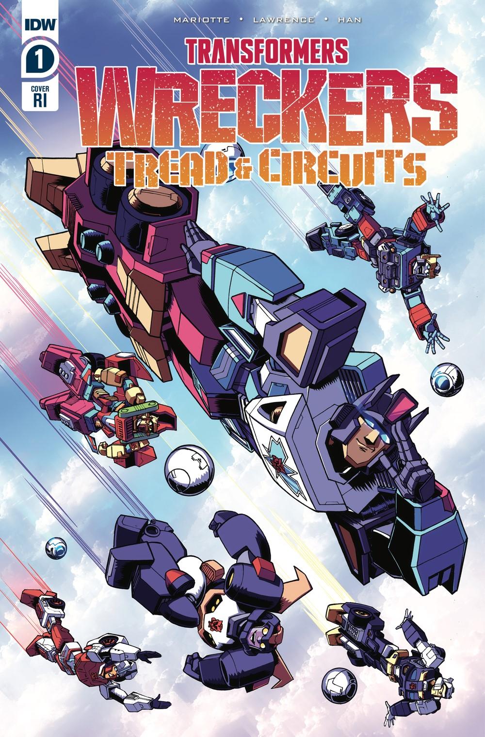 TF-Wreckers-TnC01_cvrRI ComicList Previews: TRANSFORMERS WRECKERS TREAD AND CIRCUITS #1 (OF 4)