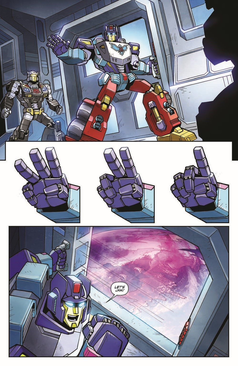 TFWreckers01-pr-3 ComicList Previews: TRANSFORMERS WRECKERS TREAD AND CIRCUITS #1 (OF 4)