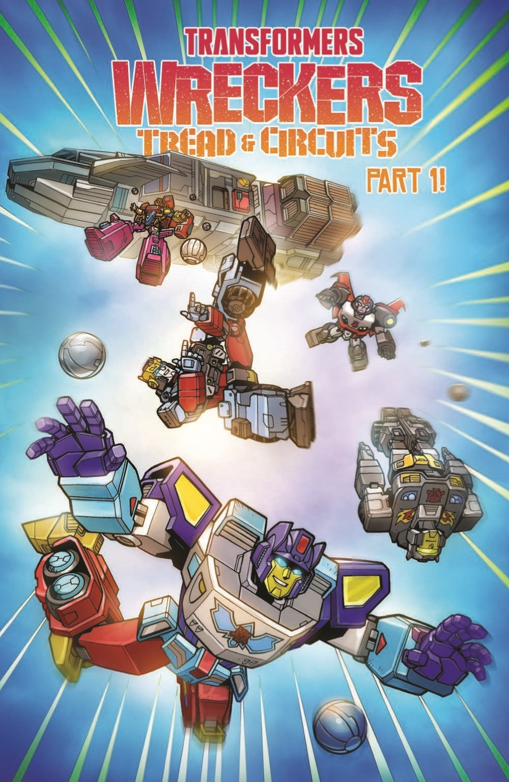 TFWreckers01-pr-4 ComicList Previews: TRANSFORMERS WRECKERS TREAD AND CIRCUITS #1 (OF 4)