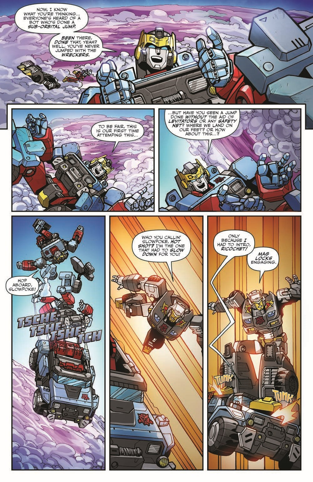 TFWreckers01-pr-5 ComicList Previews: TRANSFORMERS WRECKERS TREAD AND CIRCUITS #1 (OF 4)