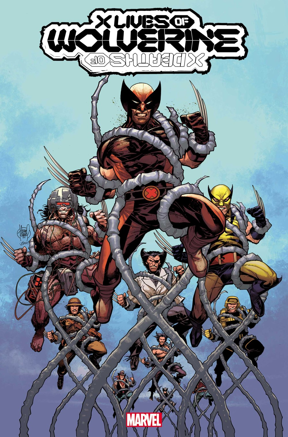 XLIVESWOLV2022001 Explore the X LIVES and X DEATHS of Wolverine this January