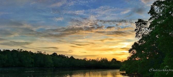 Sunset di Desa Bohesilian (foto: Marischka Prudence)