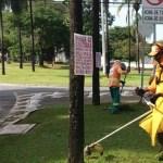 Prefeitura de Goiânia faz limpeza no Setor Leste Universitário