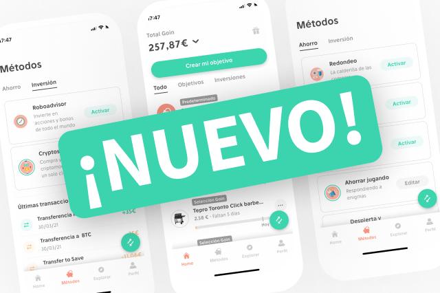 Nuevo: actualizamos la app, cambiamos de apariencia