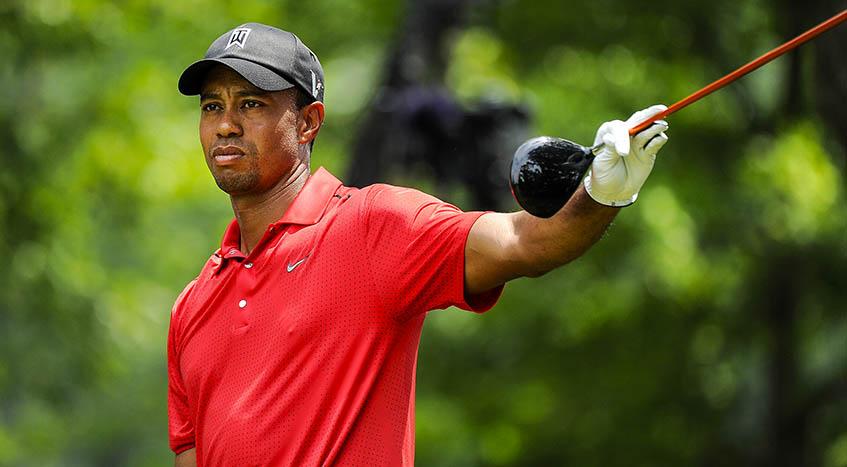 Tiger Woods Rusty, image: pgatour.com