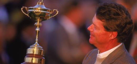 Tom Watson 1993 Ryder Cup, image: bleacherreport.com